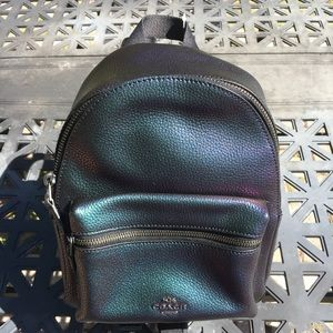 Coach Holographic Charlie Mini Backpack